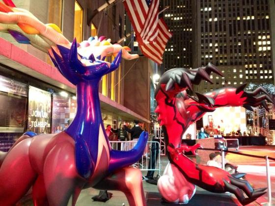 Lanzamiento Pokemon XY - Nueva York