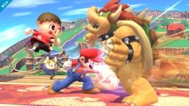 Super Smash Bros aldeano U 00