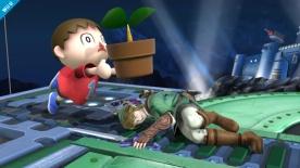 Super Smash Bros aldeano U 01