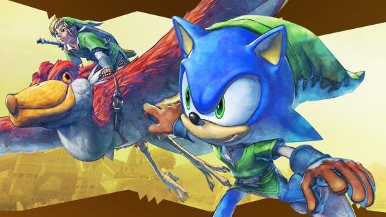 Sonic Zelda DLC 00