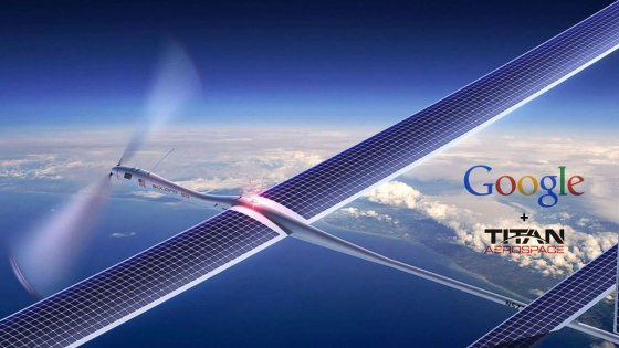 Google + Titan Aerospace