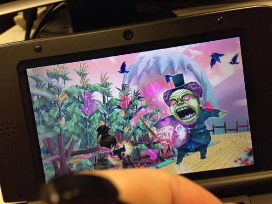 Zombie Panic Wonderland Plus 3DS 00