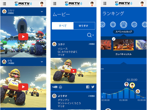 App Mario Kart TV 00