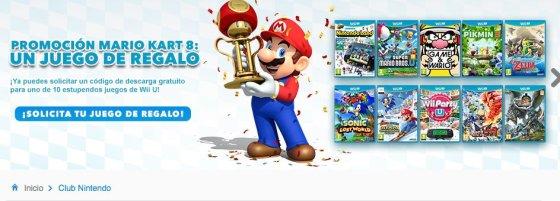 Banner promocion MK 8 juego regalo