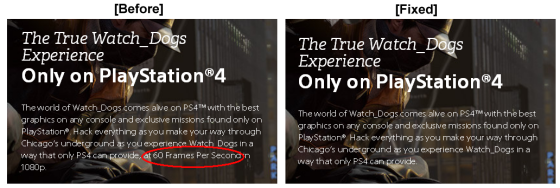 modificacion descripion Watch Dogs sony 00