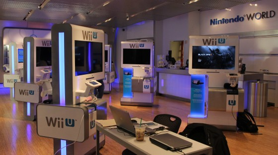 Nintendo World Store area Wii U 00