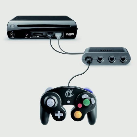 Pad Gamecube conectado a Wii U 00