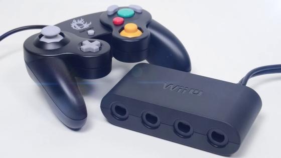 Pad Gamecube y dispositivo Wii U