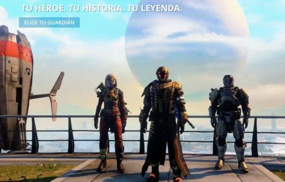 Personajes Destiny 00
