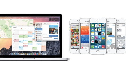 Apple WWDC - OS X Yosemite - iOS 8