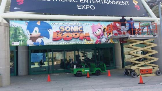 Banner y fecha salida Sonic Boom E3 00