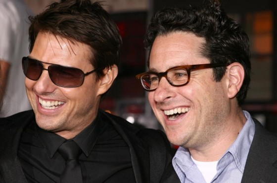 JJ Abrams y Tom Cruise 00
