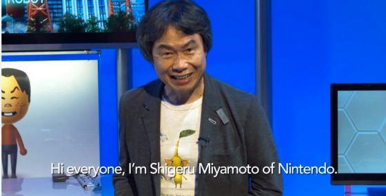 Shigeru Miyamoto E3 2014 00