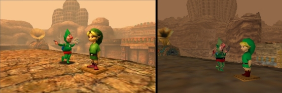 3DS Vs N64, mejor luminosidad y definición