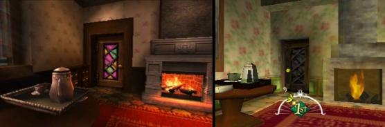 3DS Vs N64, mas objetos en decorados