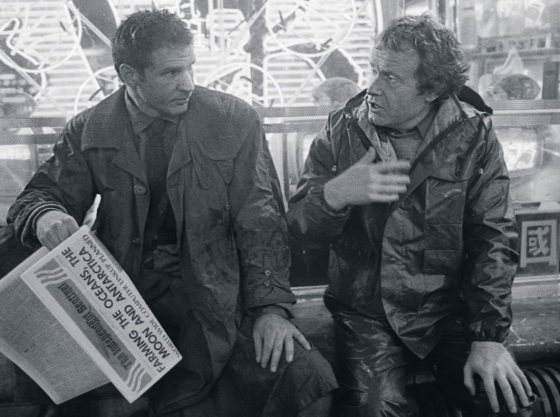 Ford y Scott en Blade Runner 00