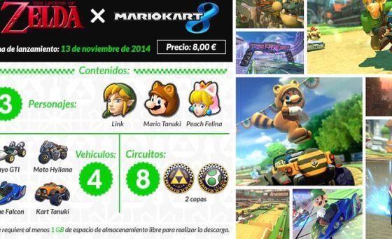 Set Zelda Mario Kart 8 DLC 00