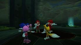 Sonic, sus amigos, y ¿Clones inanimados?