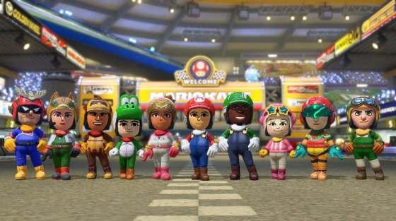Trajes Amiibo Mario Kart 8 00