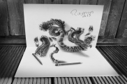 Dragon chino 3D