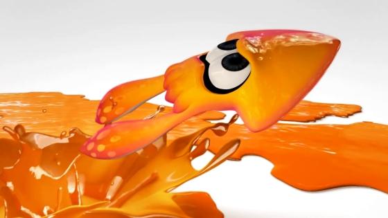 Splatoon Calamar naranja 00