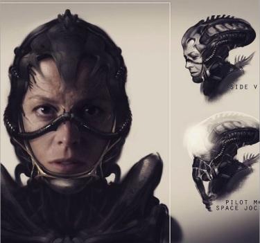 Alien 5 Arte Conceptual 00