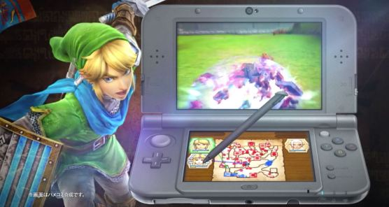 Hyrule Warriors 3DS 01